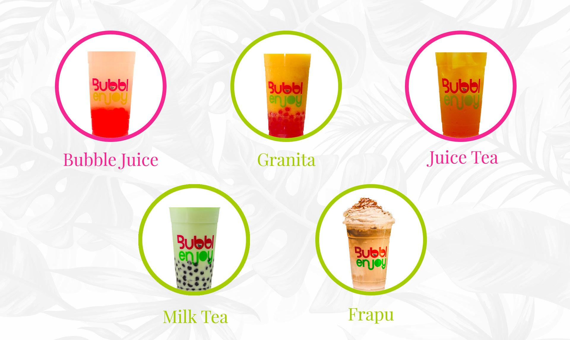 Notre carte des boissons